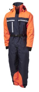 Two coloured thermal overall