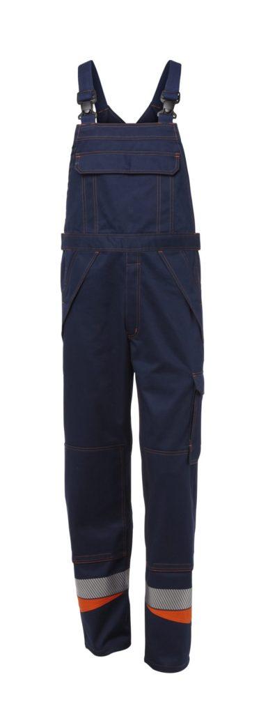 Bib trousers Multi Hazard Textile