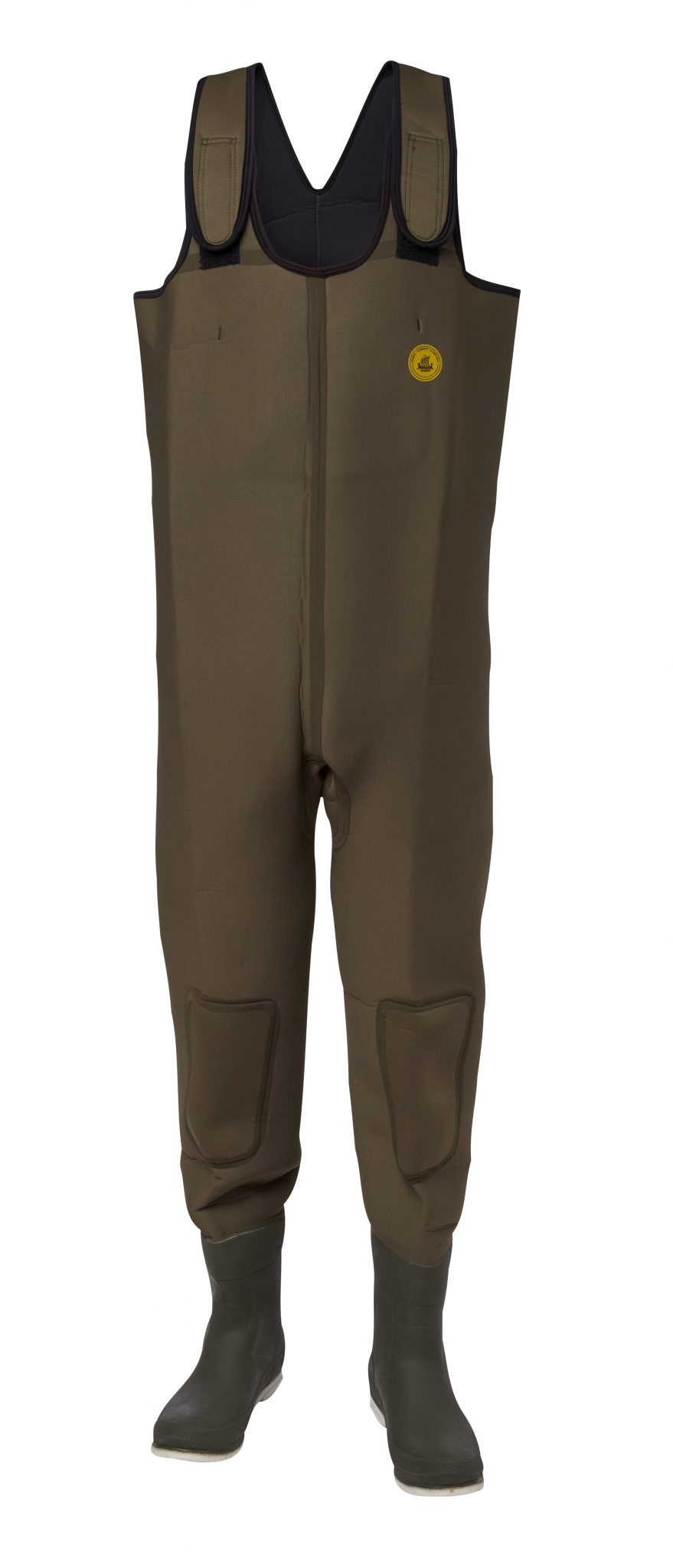 Neoprenwaders with filt soles
